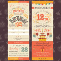 Birthday Party Invitation Ticket