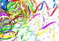 Birthday ribbons Royalty Free Stock Images