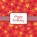 Birthday wrapping Stock Images