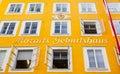 Birthplace of Wolfgang Amadeus Mozart in Salzburg, Austria Royalty Free Stock Photo