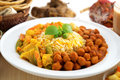 Biryani rice or briyani rice fresh cooked with steam delicious indian food Royalty Free Stock Images