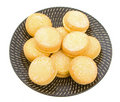 Biscoitos do Shortbread do io-io Fotos de Stock Royalty Free
