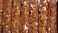 Biscotti background Stock Images