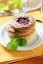 Biscotti dello Shortbread Fotografia Stock