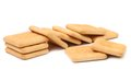 Biscuit de soude de saltine Photographie stock libre de droits