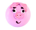 Biscuit with pig face Royalty Free Stock Photo