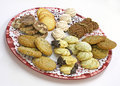 Biscuits assortis Photo libre de droits