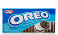 Biscuits de chocolat d'Oreo Photo libre de droits