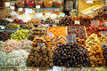Biscuits and desserts in istanbul market turkey Royalty Free Stock Photography