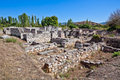 Bishop's Palace in Aphrodisias Royalty Free Stock Photo