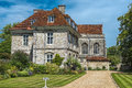 Bishops house winchester hampshire great britain wolvesey palace residence near to Royalty Free Stock Images