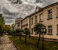 Bishops palace in lomza poland podlaskie voivodeship about cathedral church of archangel michael Royalty Free Stock Photography