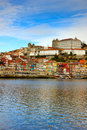 Bishops palace and old town of Porto Stock Photo