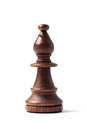 Bispo preto Chess Piece Imagem de Stock Royalty Free
