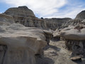 Bisti badlands wilderness new mexico Stock Images