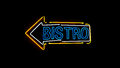 Bistro neon sign. Royalty Free Stock Photo