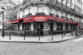 Bistro in Paris Royalty Free Stock Photo