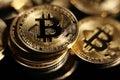 Bitcoin Royalty Free Stock Photo