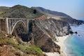 Bixby Bridge, Big Sur, California, USA Royalty Free Stock Photo
