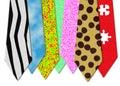Bizarre neckties
