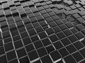 Black abstract cubes background Royalty Free Stock Photo