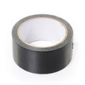 Black adhesive tape Stock Image