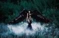 Black Angel. Pretty Girl-demon