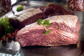 Japanese Kobe Beef Chuck Royalty Free Stock Photo