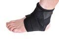 Black Ankle Brace Stock Photos