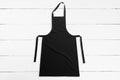 Black apron Royalty Free Stock Photo