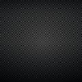 Black background carbon fibre texture vector illustration Royalty Free Stock Images