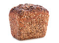 Black barley bread Stock Photos