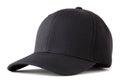 Black baseball hat Royalty Free Stock Photo