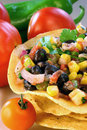 Black Bean and Corn Salsa Royalty Free Stock Photo