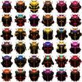 Black Beetles Royalty Free Stock Photo