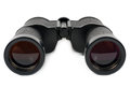 Black binoculars Royalty Free Stock Image