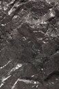 Black bituminous coal carbon nugget background hard closeup macro texture power and energy source Stock Photos