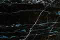 Black and blue marble texture Royalty Free Stock Photo