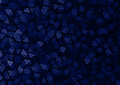 Black & Blue Polygon Particles Abstract Background