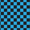 Black blue square checkered pattern background Royalty Free Stock Photo