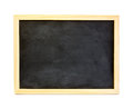 Black board school isolated on a white background Stock Photo