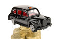 Black Cab Royalty Free Stock Photography