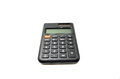 Black calculator Royalty Free Stock Photo