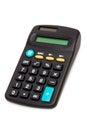 Black calculator Royalty Free Stock Photo