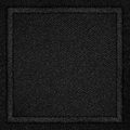 Black canvas background Stock Images