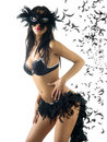 Black carnival Stock Photo