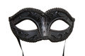 Black Carnival mask Royalty Free Stock Photo
