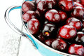 Black Cherries Royalty Free Stock Photography