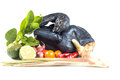 Black Chicken Royalty Free Stock Photo