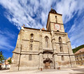 The Black Church in Brasov Stock Photos